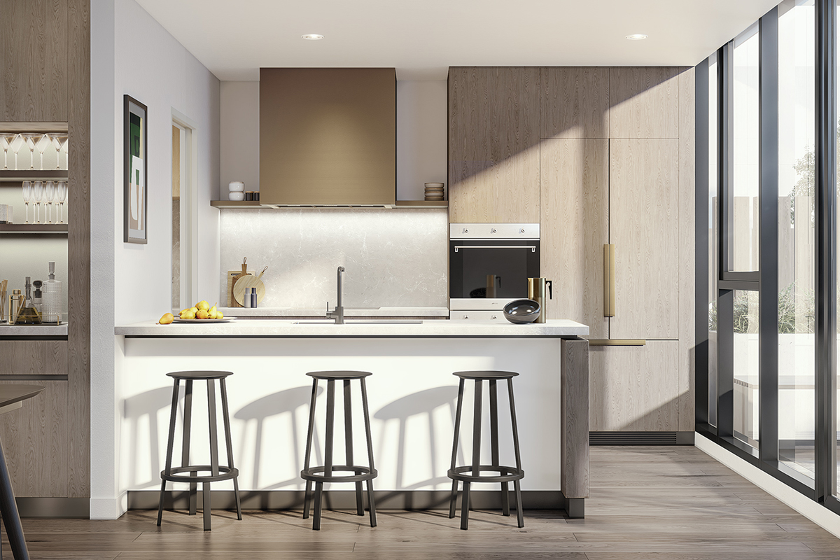 HOME Premium Kitchen Light - Render