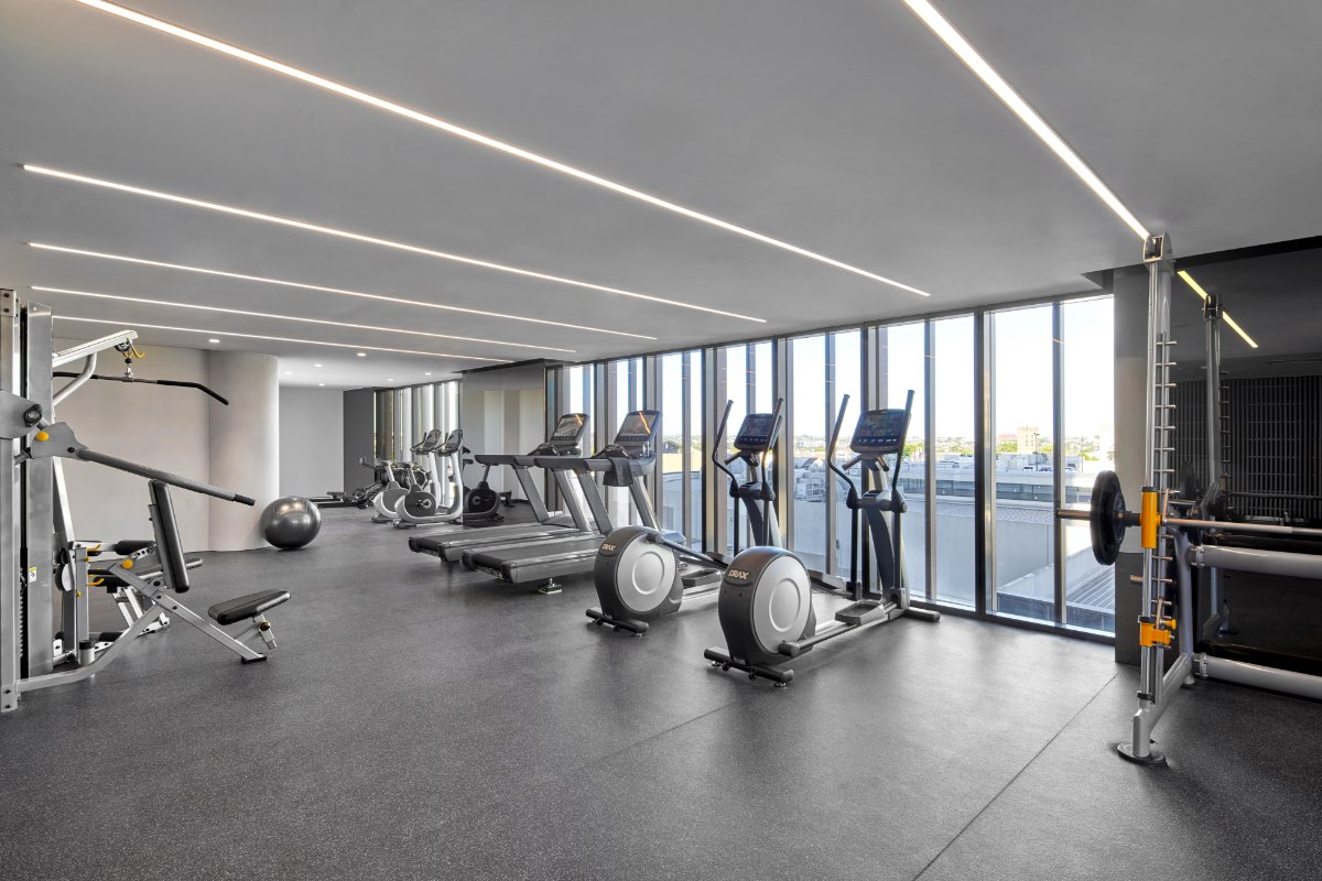Mason Sq Rise Amenity Club Rise Gym Render