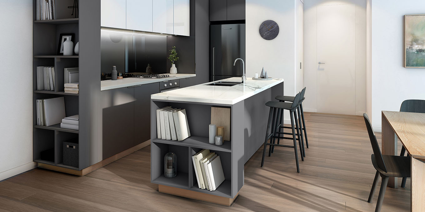 windsorco preston kitchen area interior design