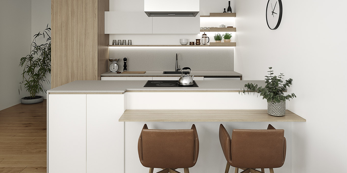 Verso Northcote apartment kitchen interior design