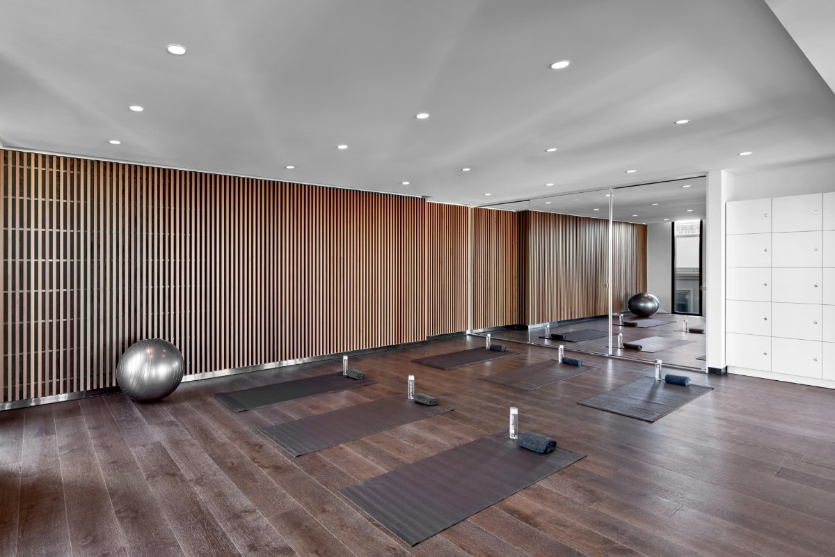Mason Sq Rise Amenity Club Rise Yoga Render